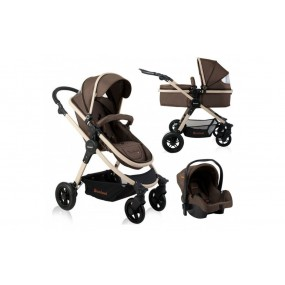 Baninni 3 in 1 Kinderwagen - Ayo - Sugar Brown